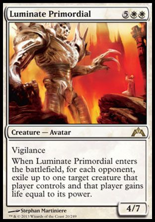 Luminate Primordial, Gatecrash