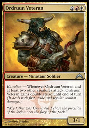Ordruun Veteran, Gatecrash