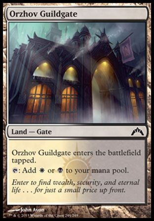 Orzhov Guildgate, Gatecrash