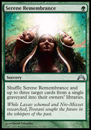 Serene Remembrance, Gatecrash