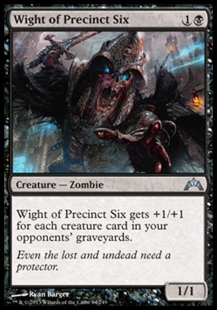 Wight of Precinct Six, Gatecrash
