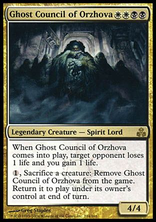 Ghost Council of Orzhova, Guildpact