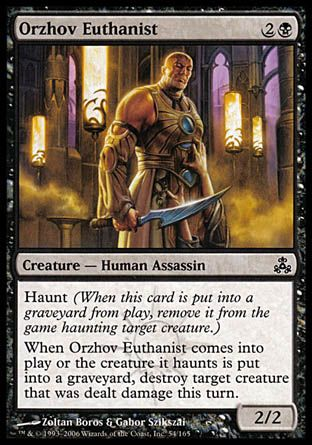 Orzhov Euthanist, Guildpact