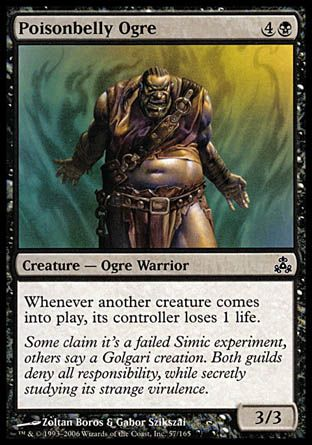 Poisonbelly Ogre, Guildpact