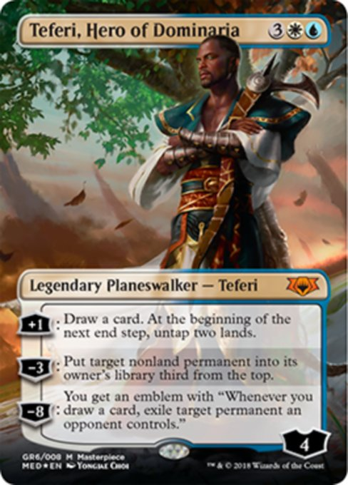 Teferi, Hero of Dominaria, Guilds of Ravnica Mythic Edition