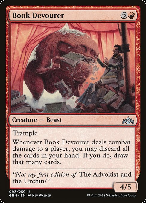 Book Devourer, Guilds of Ravnica