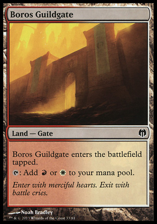 Boros Guildgate, Heroes vs Monsters