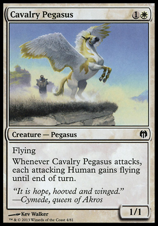 Cavalry Pegasus, Heroes vs Monsters