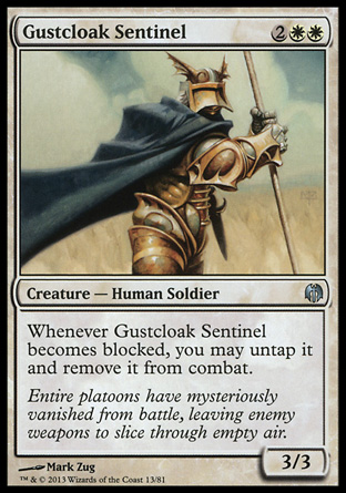 Gustcloak Sentinel, Heroes vs Monsters