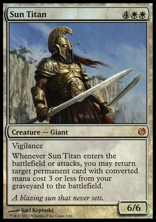Sun Titan, Heroes vs Monsters