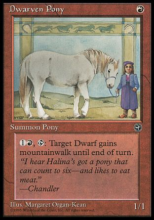 Dwarven Pony, Homelands