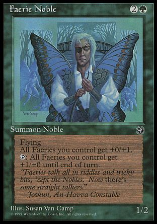 Faerie Noble, Homelands