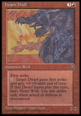 Heart Wolf, Homelands