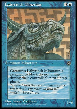 Labyrinth Minotaur, Homelands
