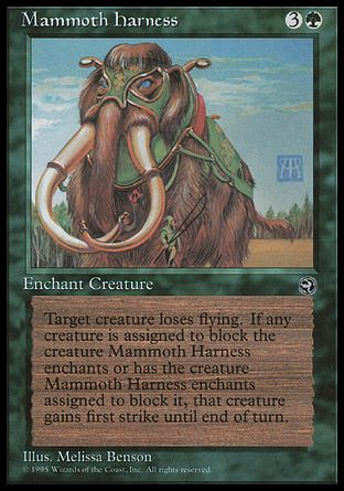 Mammoth Harness, Homelands