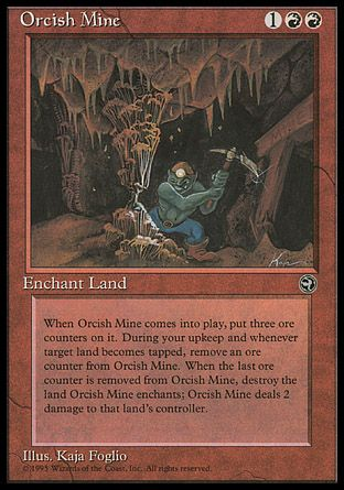 Orcish Mine, Homelands