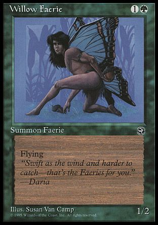 Willow Faerie, Homelands