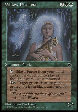 Willow Priestess, Homelands
