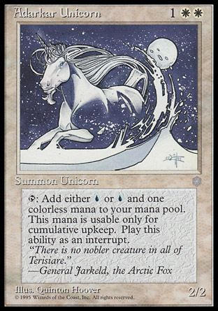 Adarkar Unicorn, Ice Age
