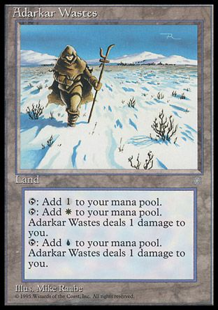 Adarkar Wastes, Ice Age