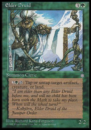 Elder Druid, Ice Age
