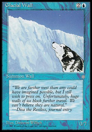 Glacial Wall, Ice Age