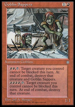 Goblin Sappers, Ice Age