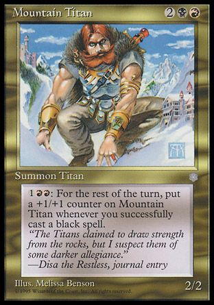 Mountain Titan, Ice Age