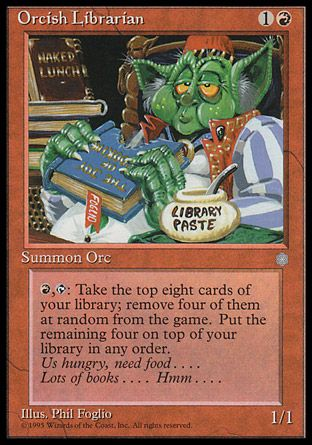 Orcish Librarian, Ice Age