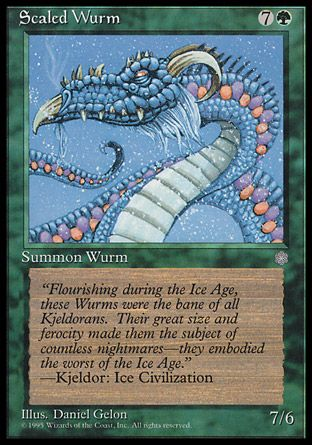Scaled Wurm, Ice Age