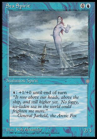 Sea Spirit, Ice Age