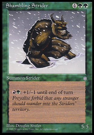 Shambling Strider, Ice Age