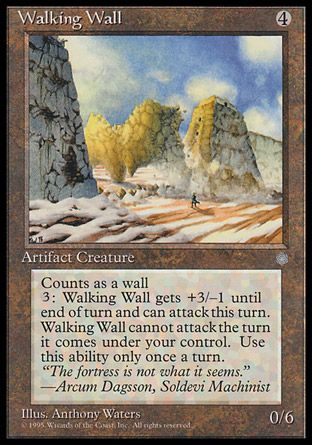 Walking Wall, Ice Age