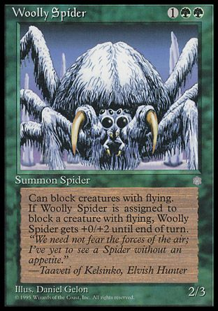 Woolly Spider, Ice Age