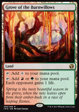 Grove of the Burnwillows, Iconic Masters