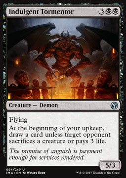 Indulgent Tormentor, Iconic Masters