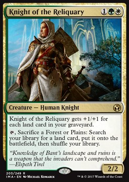 Knight of the Reliquary, Iconic Masters