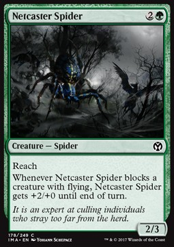 Netcaster Spider, Iconic Masters