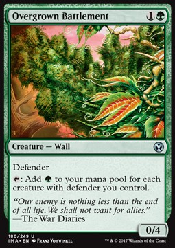 Overgrown Battlement, Iconic Masters