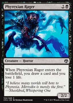 Phyrexian Rager, Iconic Masters