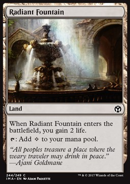 Radiant Fountain, Iconic Masters