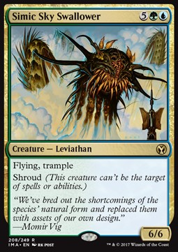 Simic Sky Swallower, Iconic Masters