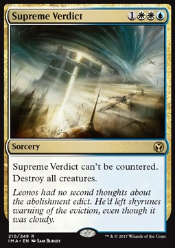 Supreme Verdict, Iconic Masters