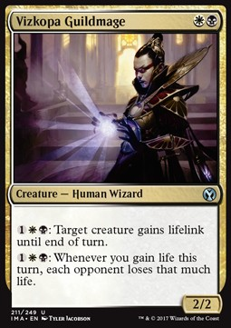 Vizkopa Guildmage, Iconic Masters