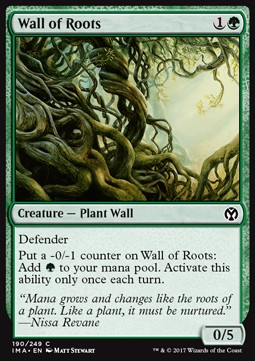 Wall of Roots, Iconic Masters