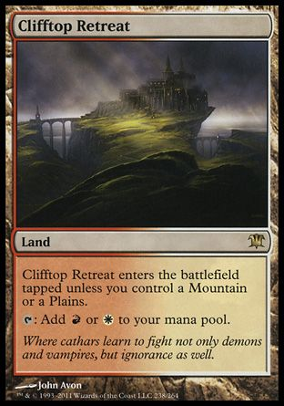 Clifftop Retreat, Innistrad