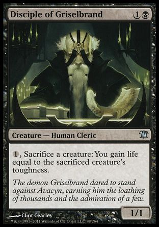 Disciple of Griselbrand, Innistrad