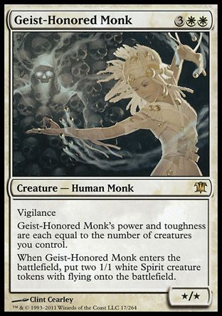 Geist-Honored Monk, Innistrad