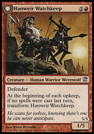 Hanweir Watchkeep / Bane of Hanweir