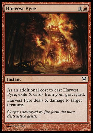 Harvest Pyre, Innistrad